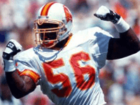 BuccaneersFan.com Hardy Otto Nickerson Tampa Bay Buccaneers Player 1993 to 1999
