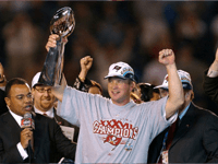 BuccaneersFan.com Jon Gruden Tampa Bay Buccaneers Head Coach 2002 to 2008