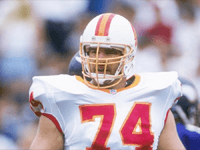 BuccaneersFan.com Paul Blake Gruber Tampa Bay Buccaneers Player 1988 to 1999