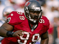 BuccaneersFan.com Warren Carlos Sapp Tampa Bay Buccaneers Player 1978 to 1982