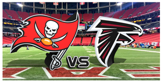 Atlanta Falcons Mascot vs. The Tampa Bay Buccaneers BuccaneersFan