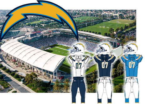 Los Angeles Chargers, Formerly San Diego Chargers opponent of the Tampa Bay Buccaneers