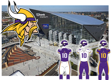 Minnesota Vikings opponent of the Tampa Bay Buccaneers