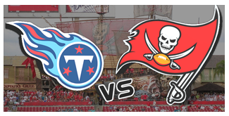 Tennessee Titans vs. The Tampa Bay Buccaneers BuccaneersFan