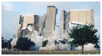 The Demolition of Tampa Stadium September 13, 1998