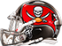 Sunday, September 10, 1995 - BuccaneersFan BUCS classic helmet