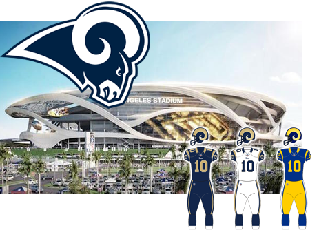Los Angeles Rams opponent of the Tampa Bay Buccaneers