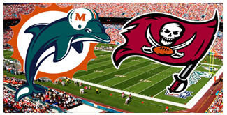 Miami Dolphins vs. The Tampa Bay Buccaneers BuccaneersFan