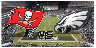 Philadelphia Eagles vs. The Tampa Bay Buccaneers BuccaneersFan